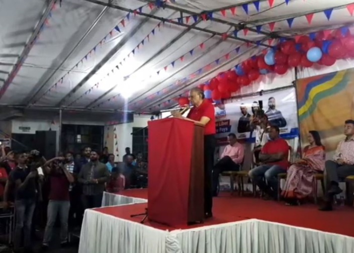 Navin Ramgoolam : «Je suis le fils de SSR. Dan lavi, bizin fer face à tous les défis»