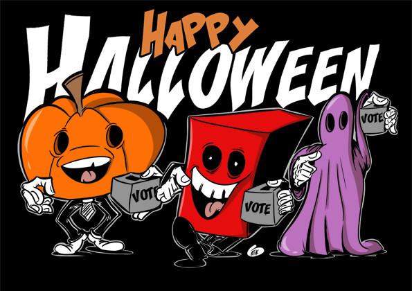 [KOK] Le dessin du jour : Joyeux Halloween
