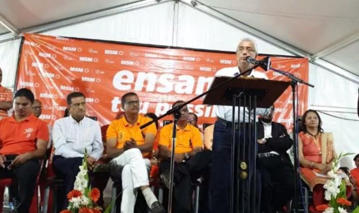 Pravind Jugnauth : «Militan komie tan ou pou ekout soldat lali militan ou pou reste lor coltar mem ? »