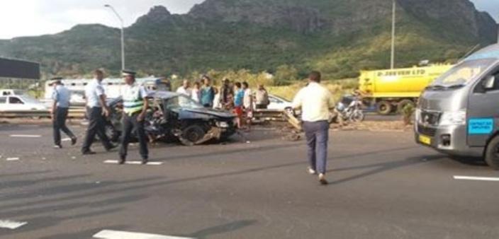Un accident de la route à Bagatelle fait une victime