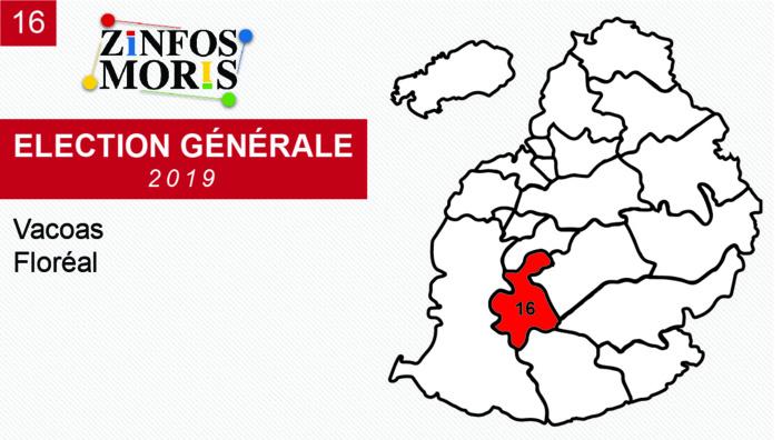 [Législatives 2019] Taux de participation au No 16 : 78, 27 %
