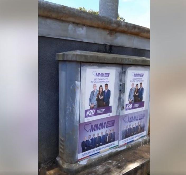▶️ Beau-Bassin : Affiches illégales à 200 mètres d'un bureau de vote signalée