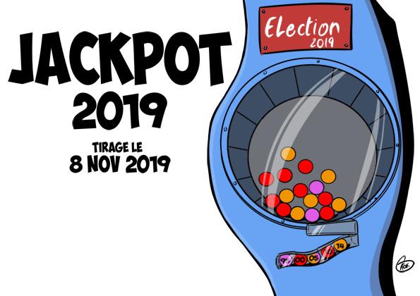 [KOK] Le dessin du jour : Jackpot 2019, tirage le 8 novembre