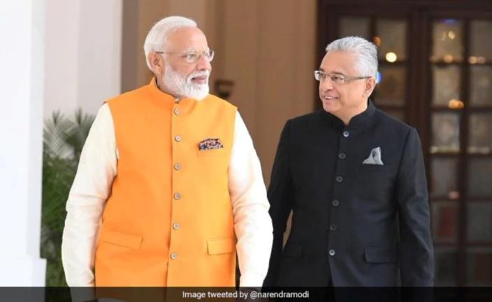 Le Premier ministre indien, Narendra Modi félicite Pravind Jugnauth