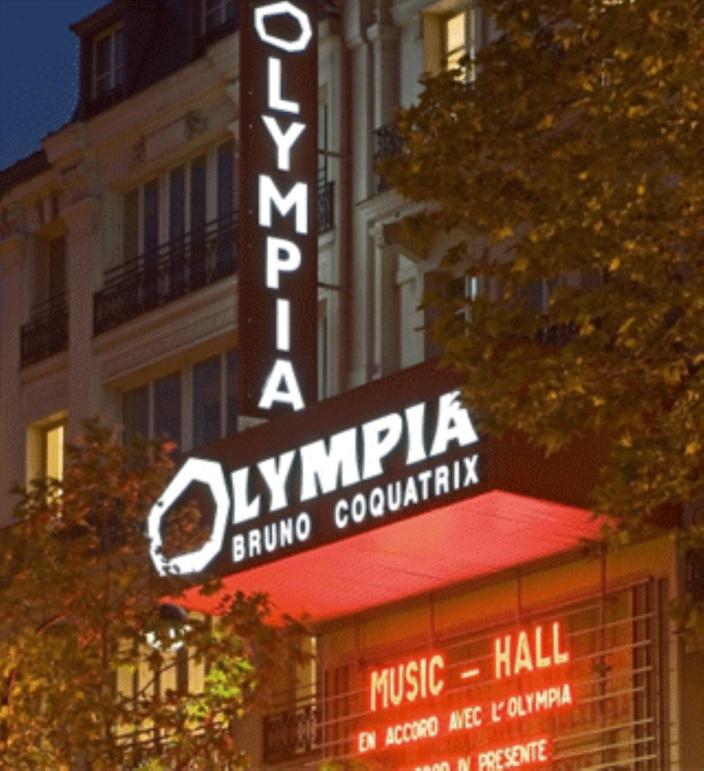 La Mauricienne Lisa Ducasse sur la scène mythique de l'Olympia