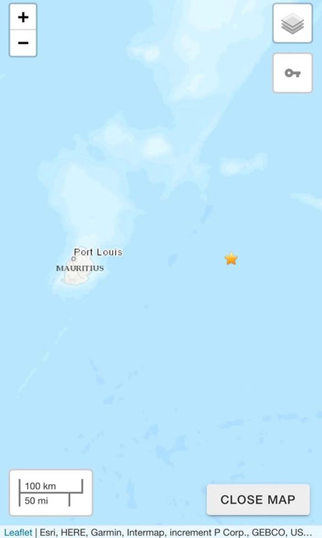 La Terre a tremblé à Maurice : un séisme de magnitude 4,8 enregistré