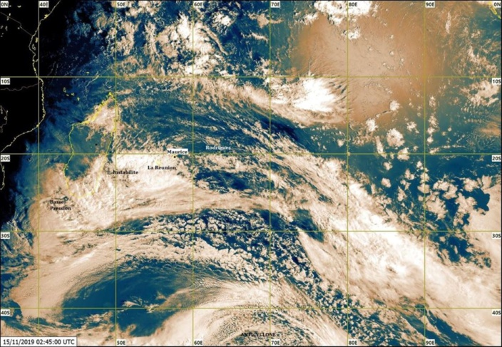 @ Météo et Cyclone Maurice