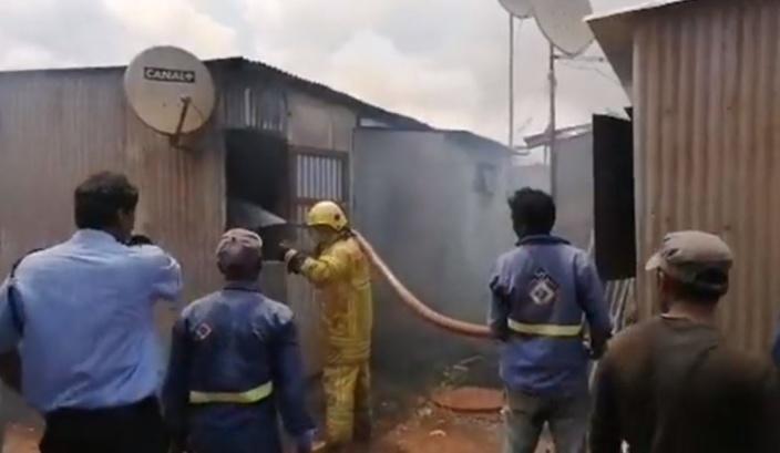 Incendie à Cité Longère, Baie-du-Tombeau : Deux bébés en difficulté respiratoire transportés à l'hôpital