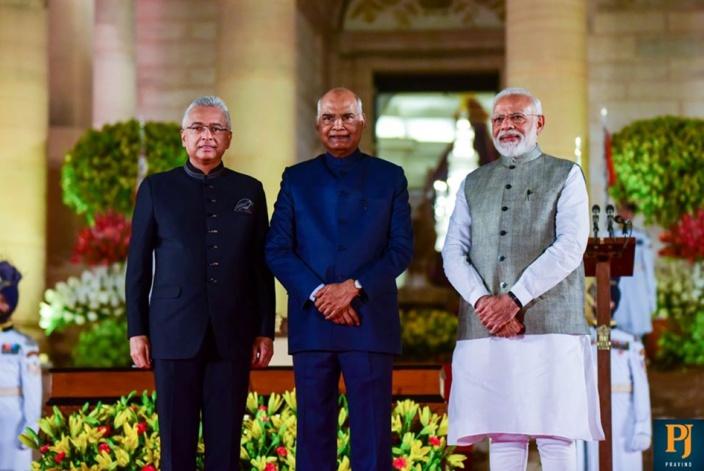 Pravind Jugnauth réserve sa première visite officielle à Modi