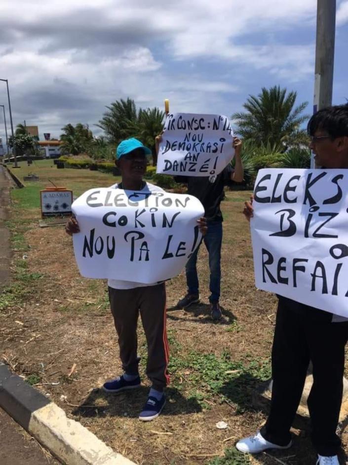 Manifestation citoyenne ce samedi pour réclamer l'annulation du scrutin