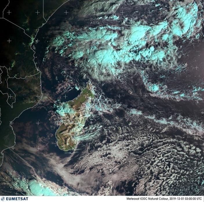 Formation d'une tempête tropicale : Il ne faut pas trop s'Ambali?