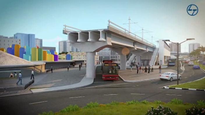 Curepipe : Début des travaux du Metro Express