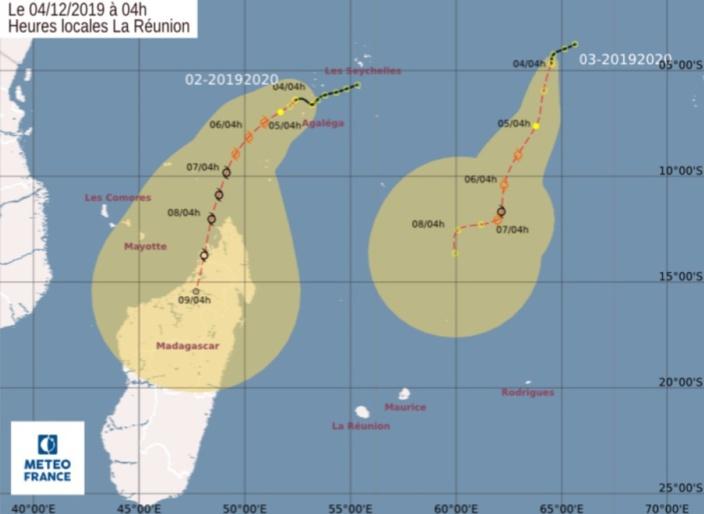 Les futures tempêtes tropicales Ambali et Belna sous surveillance