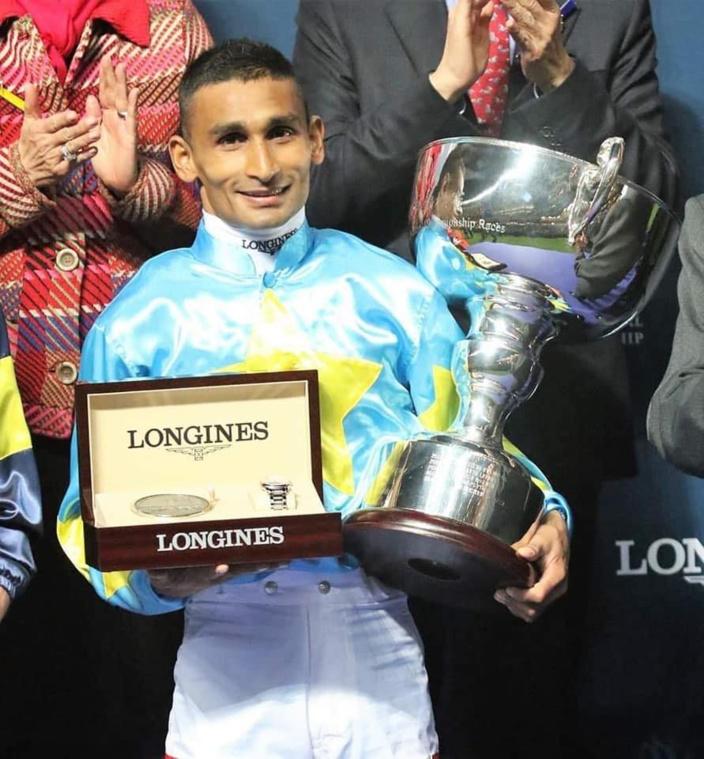 Hong-Kong : le jockey mauricien Karis Teetan devance les stars mondiales