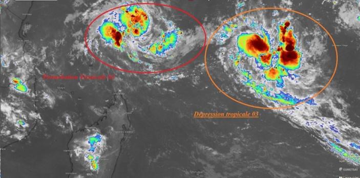 La première tempête tropicale de la saison baptisée Ambali