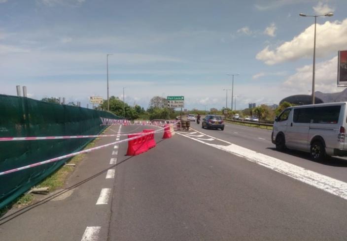 Quatre-Bornes : La route menant à St Jean et Rose-Hill fermée temporairement