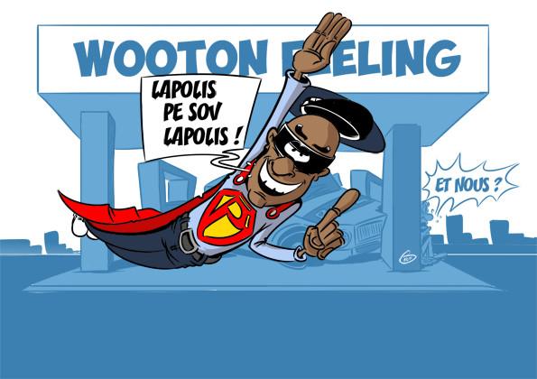 [KOK] Le dessin du jour : Accident à Wooton