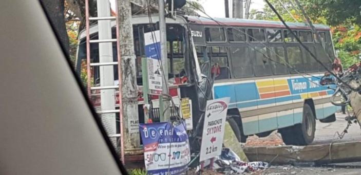 Deux blessés dans un accident de la route à Rivière-du-Rempart