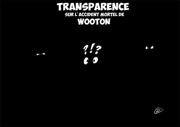 [KOK] Le dessin du jour : Transparence sur l'accident mortel de Wooton