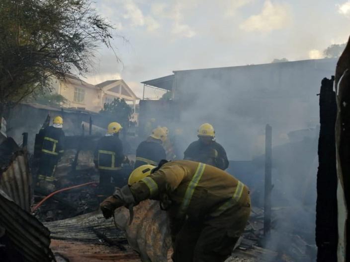 Cité Longères: Quatre maisons ravagées par un incendie en ce jour de Noël
