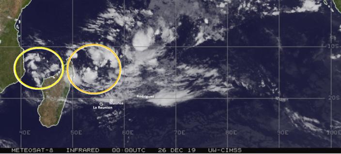 Futur cyclone Calvinia : Avertissement cyclonique probable ce week-end