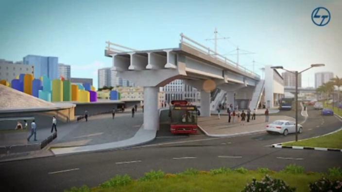 Curepipe : Début des travaux du Metro Express sur un an