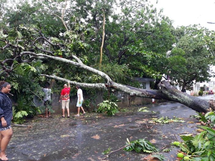 📷 La forte tempête Calvinia en images