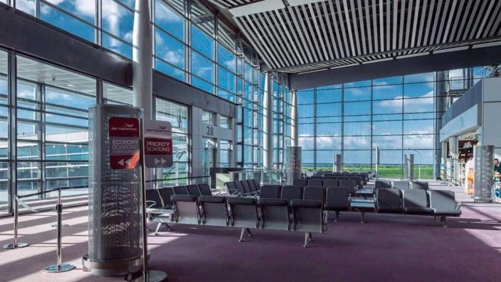Alerte cyclonique levée, l'aéroport de Plaisance ouvert