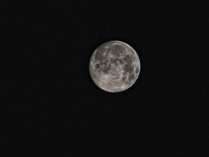 L'éclipse lunaire a déjà débuté à Maurice ce vendredi soir