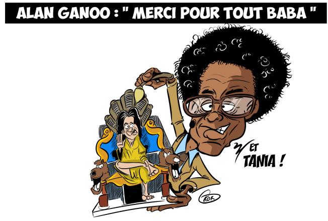 [KOK] Le dessin du jour : Alan Ganoo : « Merci pour tout Baba »