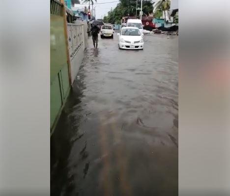 Avis de fortes pluies : Routes impraticables et inondées