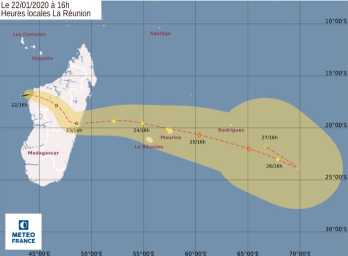 Forte probabilité d'une tempête tropicale à partir de vendredi