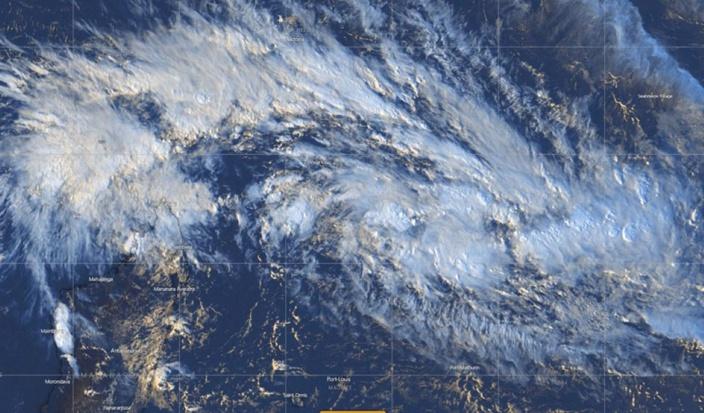Activité cyclonique : Tempête tropicale élevée dans les 24 heures au Nord-est de Rodrigues