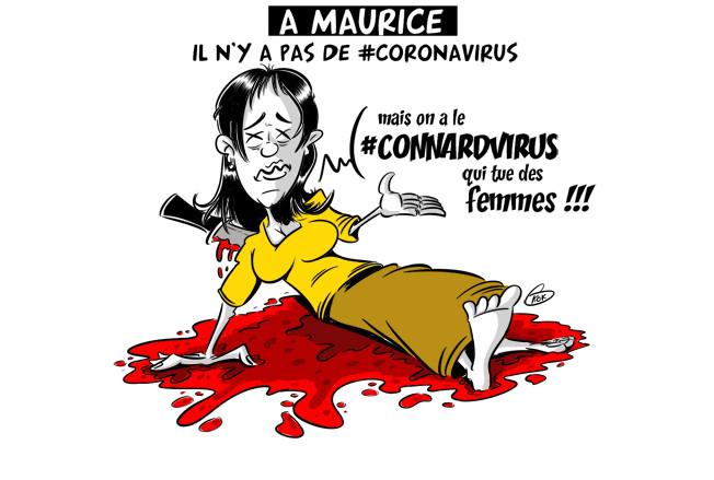 [KOK] Le dessin du jour : A Maurice pas de Coronavirus mais...