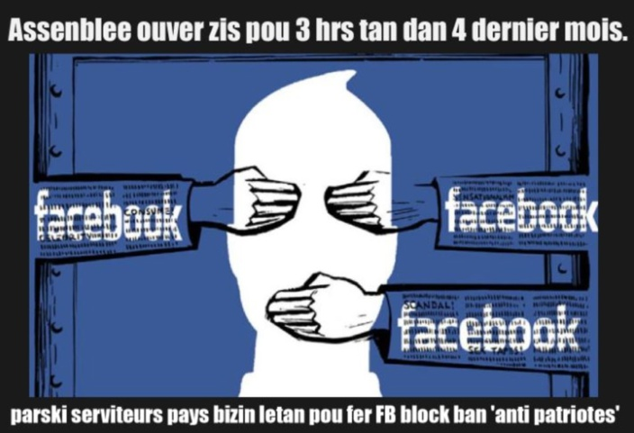 [Paul Lismore] FACEBOOK: NO LONGER A FORCE FOR GOOD BUT NOW AN ALLY OF CORRUPT GOVERNMENTS...