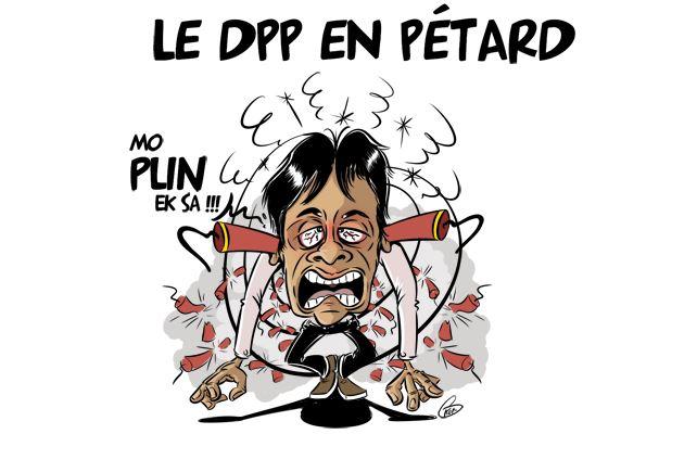 [KOK] Le dessin du jour : Le DPP en pétard contre les pétards