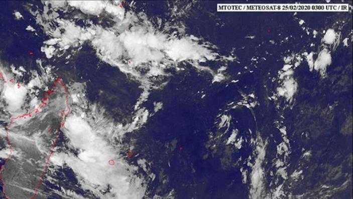 Probabilité élevé d'une tempête tropicale modérée au Nord des Mascareignes en fin de semaine