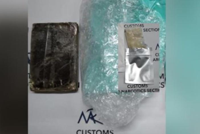 A la Poste centrale, saisie de Rs 474 000 de résine de cannabis et de méthamphétamine