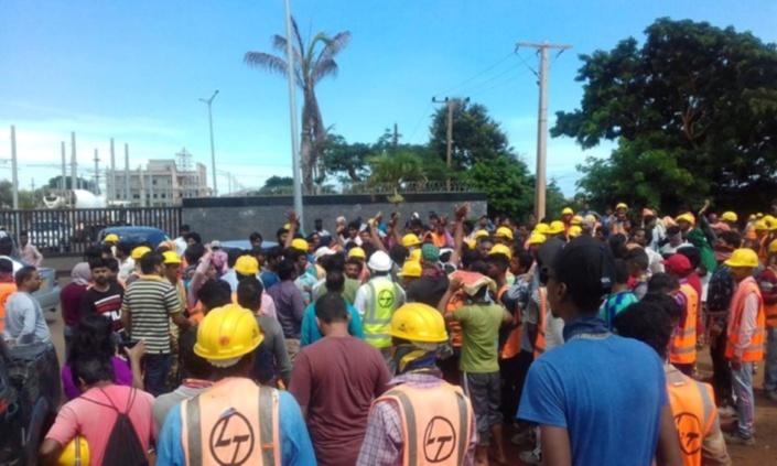 Bye-bye à 57 ouvriers de Larsen & Toubro