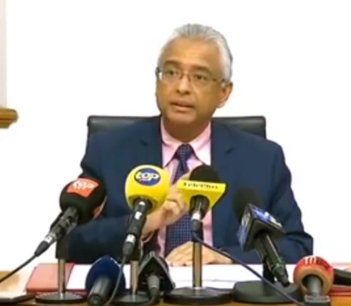 Covid-19 : Pravind Jugnauth déclare l'urgence sanitaire, 3 cas avérés à Maurice