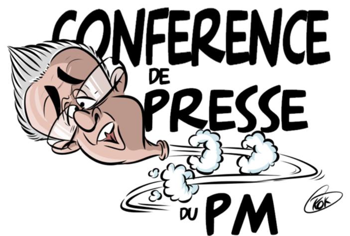 L'actualité vu par KOK : Le Premier ministre annule sa conférence de presse en pleine crise sanitaire