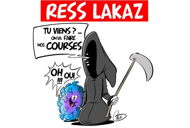 [KOK] Le dessin du jour : Ress Lakaz
