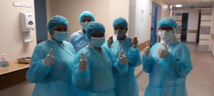 📷 Covid-19 : Le personnel de l'hôpital Dr A.G Jeetoo a un message pour vous
