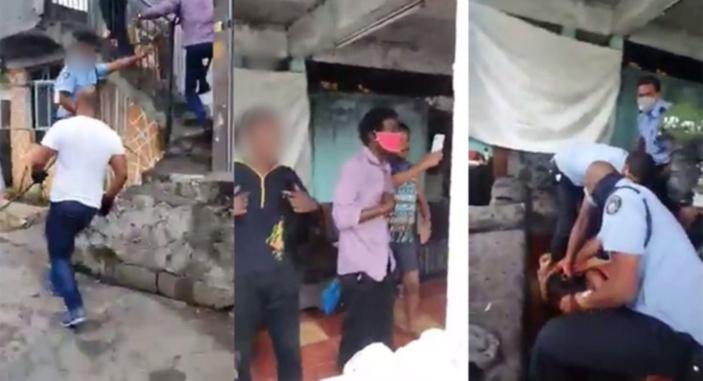 Un policier arrêté pour brutalité alléguée