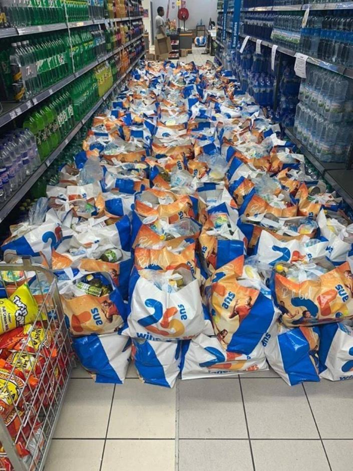 La moitié des personnes recevant une allocation pour une aide à domicile ont reçu leur food pack
