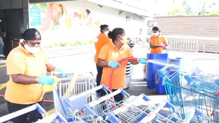 Couvre-feu sanitaire : Réouverture des supermarchés et boutiques ce jeudi
