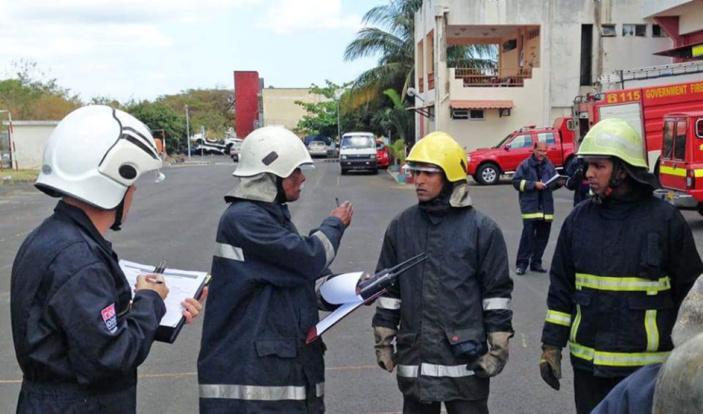 Covid-19 : La Firefighters Union propose de stériliser les lieux publics