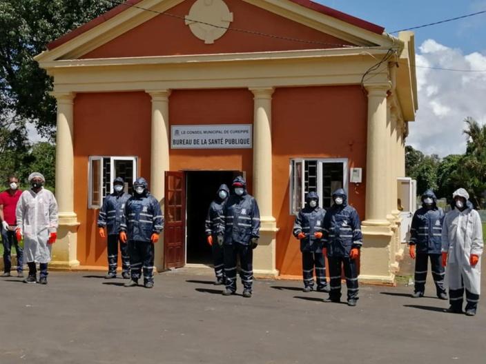 Covid-19 : A Curepipe, les employés du cimetière Bigara équipés pour les funérailles