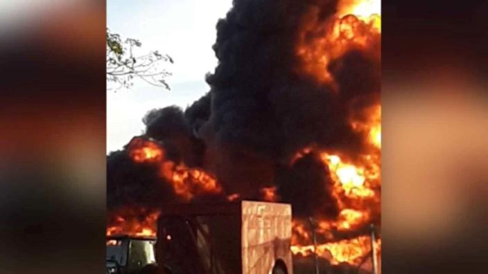 Incendie de vieux pneus à Pailles : Le malheureux propriétaire recherché