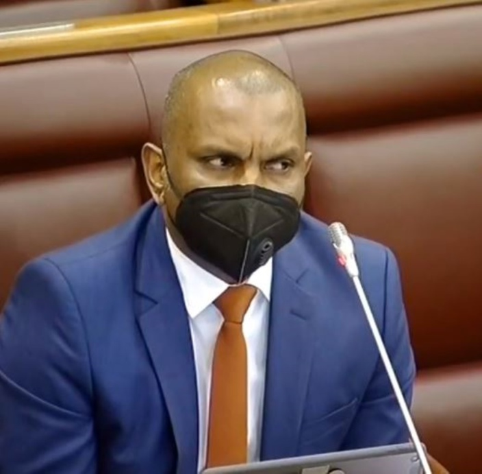 Quand Padayachy tacle malencontreusement le Speaker